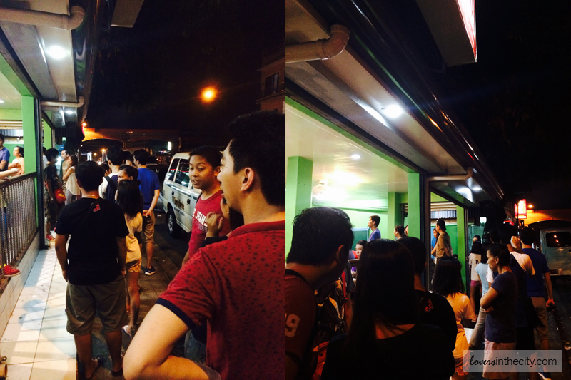 Tri Mo Shawarma long lines for order