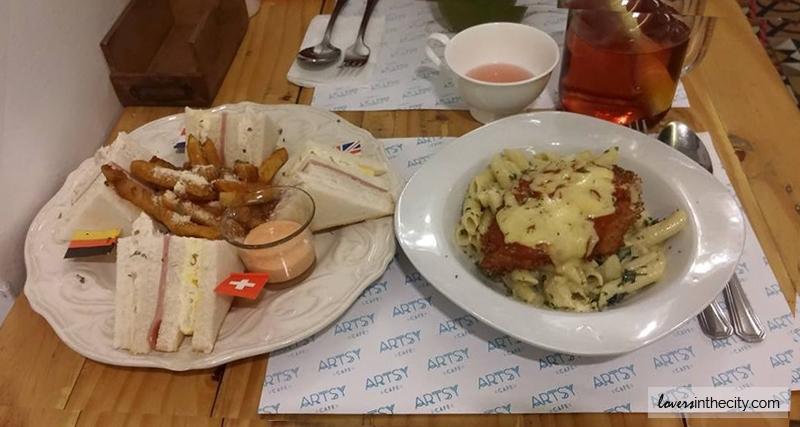 Artsy Cafe - Maginhawa Street Quezon City