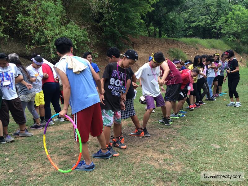 Outdoor games at Falcon Crest Norzagaray Bulacan
