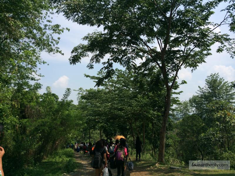 Hiking and Walking at Falcon Crest Norzagaray Bulacan