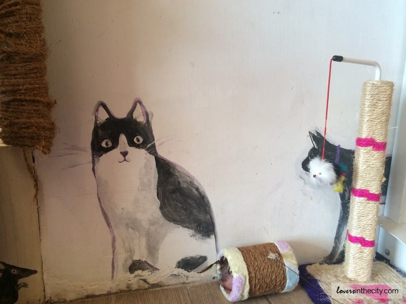 Cat Cafe Manila Wall Art