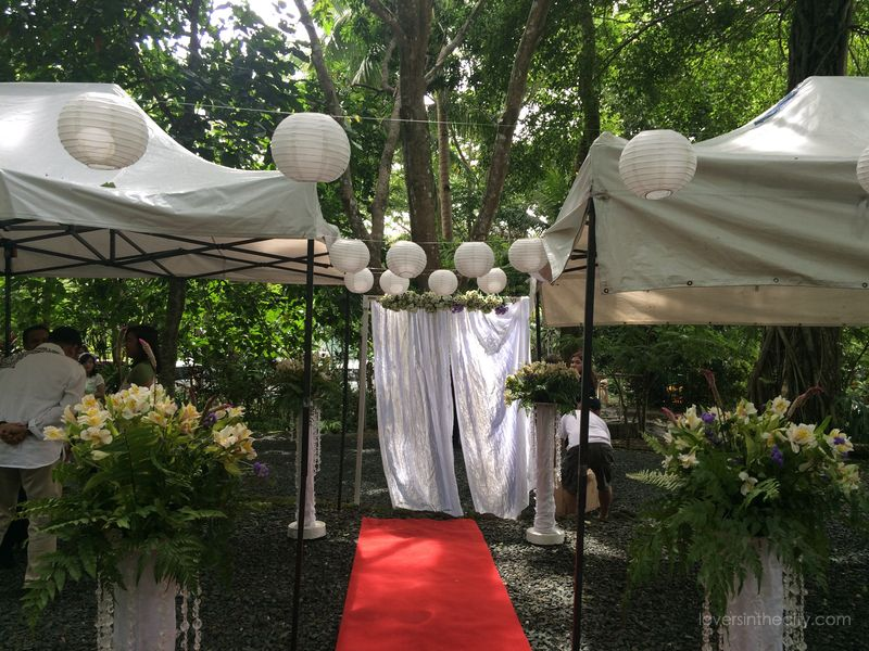 Agape Springs Wedding - Entrance