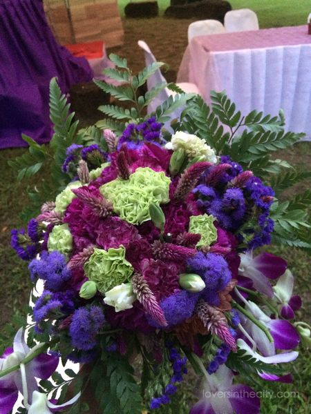 Agape Springs Wedding - Bride's Bouquet