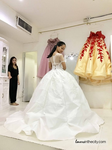 Wedding Gown for Rent by Damsel (Makati City) – Lovers in the City